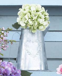 Vintage zinc pitcher