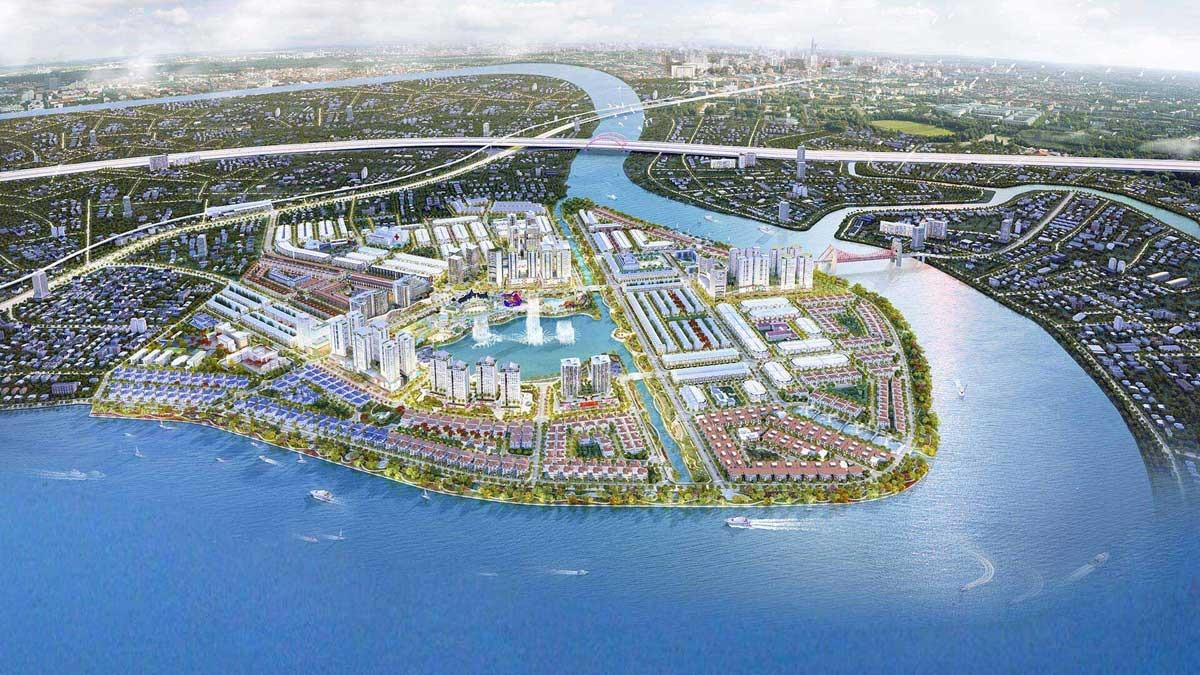 Tổng thể dự án Vạn Phúc City