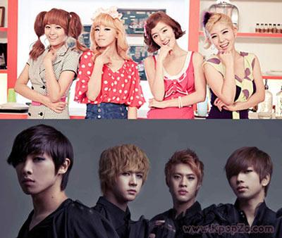 ต้อนรับวันวาเลนไทน์ด้วยการแสดงของ SECRET และ MBLAQ ในเพลง 'Shy Boy'