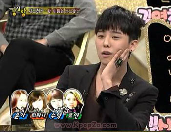 G-Dragon เล่าเรื่องเมาต่อหน้าสาว ๆ SNSD