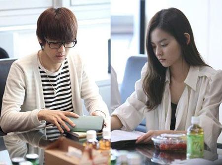 Jung Yong Hwa และ Park Shin Hye เริ่มซ้อมอ่านบทเรื่อง You Have Fallen For Me