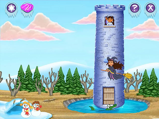 Dora the Explorer: Saves the Snow Princess Game - Play ...