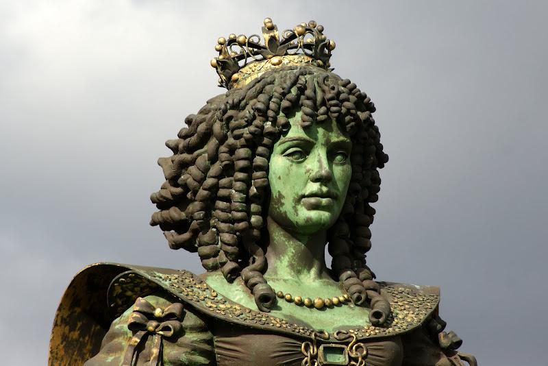 Catarina de Bragança no Parque das nações