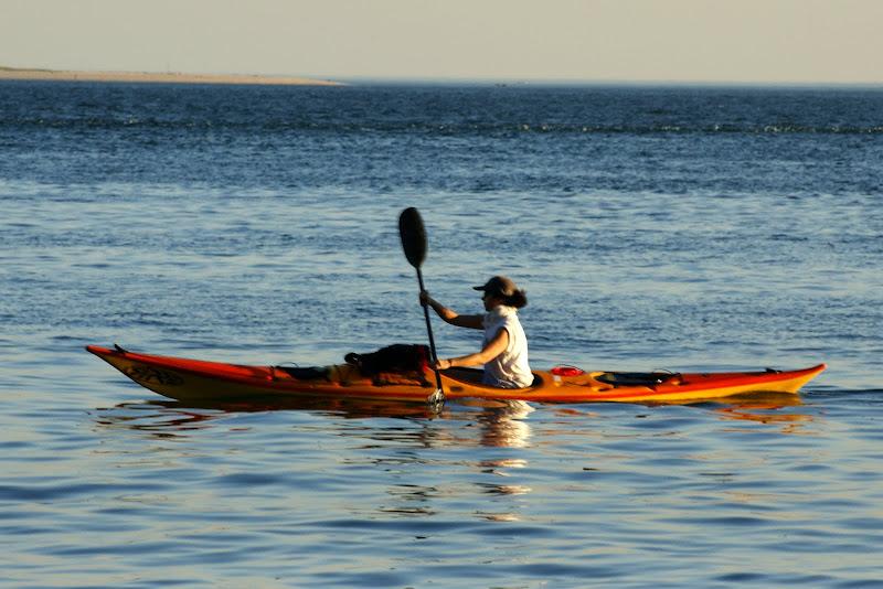 No rio Sado, canoagem