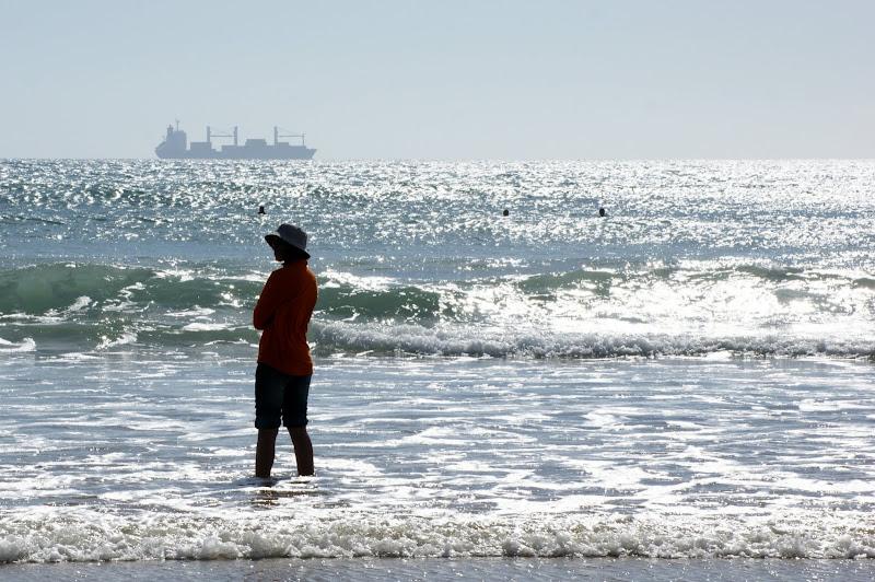Ao longe o mar