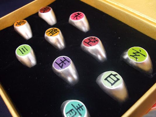 Tobi,Pein,Konan... Orochimaru Akatsuki Ring