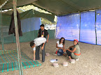 World Social Forum - empty tent