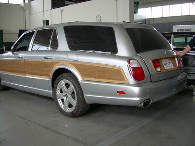 Bentley Spotting Bentley Arnage T Station Wagon