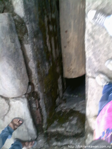 Hole Where Yosin is Erected