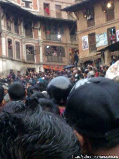 Bhairav Nath Rath Pulling