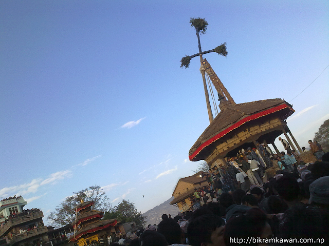Yosin at Bisket Jatra