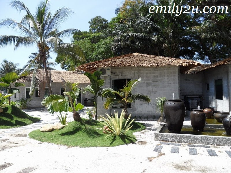 Banyan Spa lush greenery