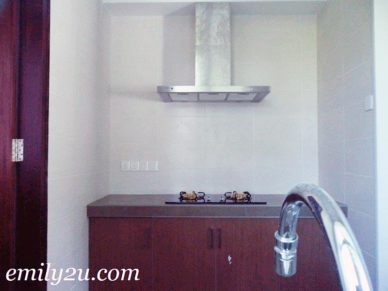 Greentree Residences small kitchen