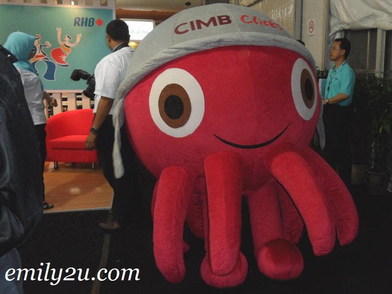 CIMB Octo mascot