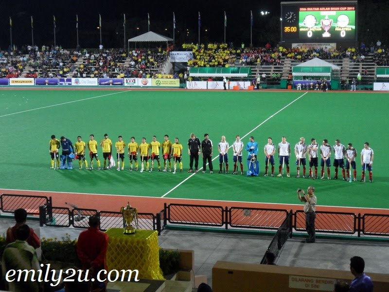 20th Sultan Azlan Shah Cup Men's International Hockey Tournament 2011