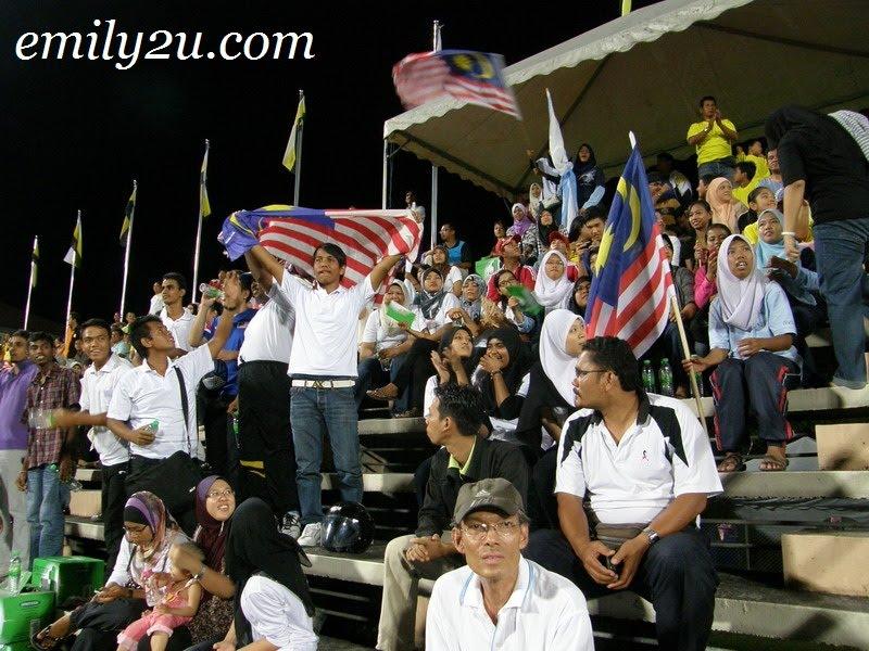 Malaysian hockey fans