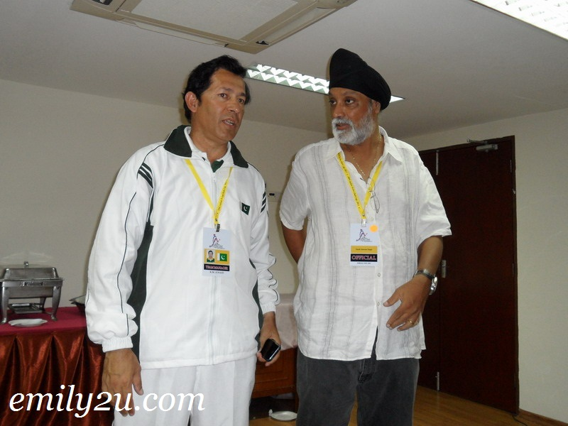 Pakistan Team Manager KM Junaid