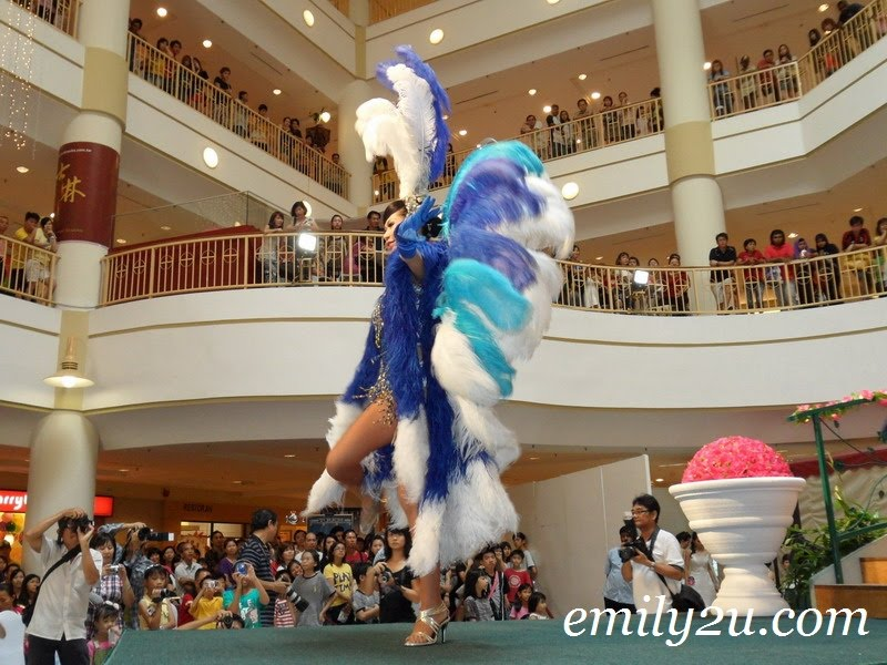 feathered dancer