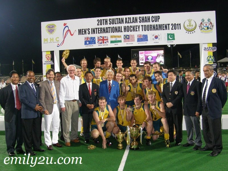 Final Results, Special Awards & Prize Presentation: 20th Sultan Azlan Shah Cup Men's International Hockey Tournament 2011