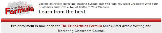 ezinearticles formula