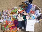 チャプター宮城用救援物資と義援金募金箱 2011-04-19T13:57:03.000Z
