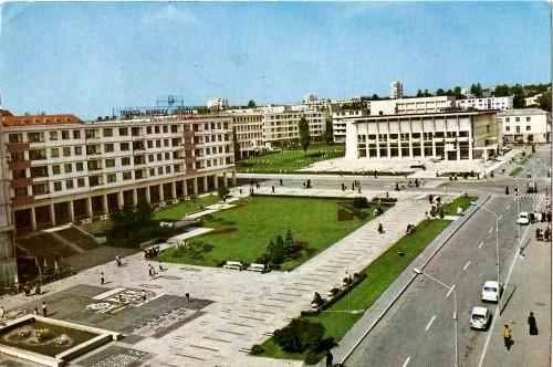 Piaţa centrală a municipiului Suceava