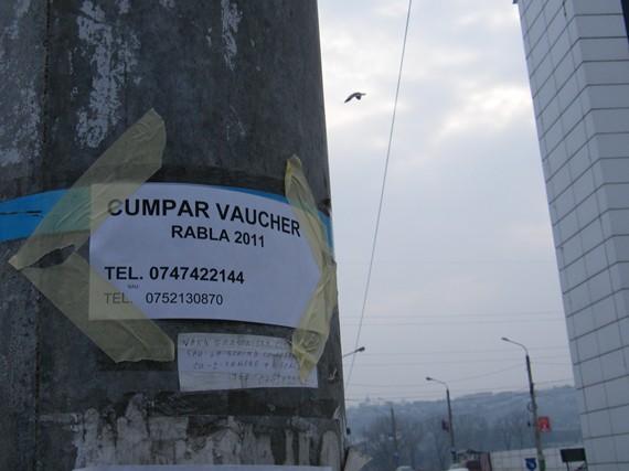 Cumpăr Vaucher Rabla 2011