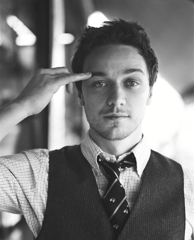 James McAvoy by Carter Smith for GQ, 2007