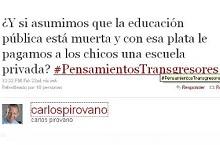 abajo la educación pública