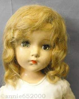 Arranbee composition doll marked R & B