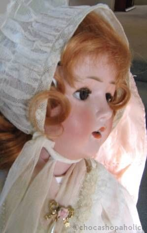 Revalo doll Ohlhaver bisque dolly-faced doll