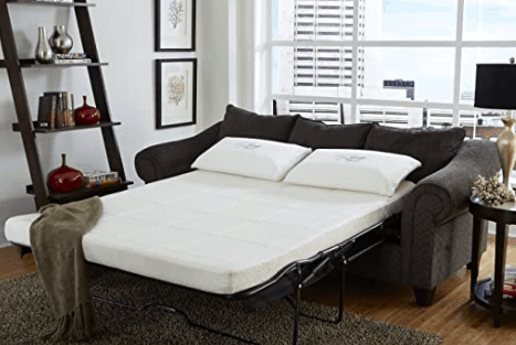 Nature's Sleep Memory Foam Sofa Sleeper Mattress