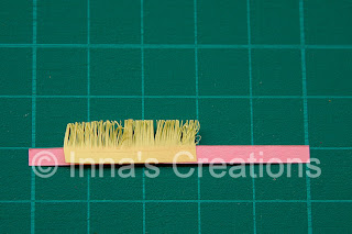 Making fringed flowers (quilling)