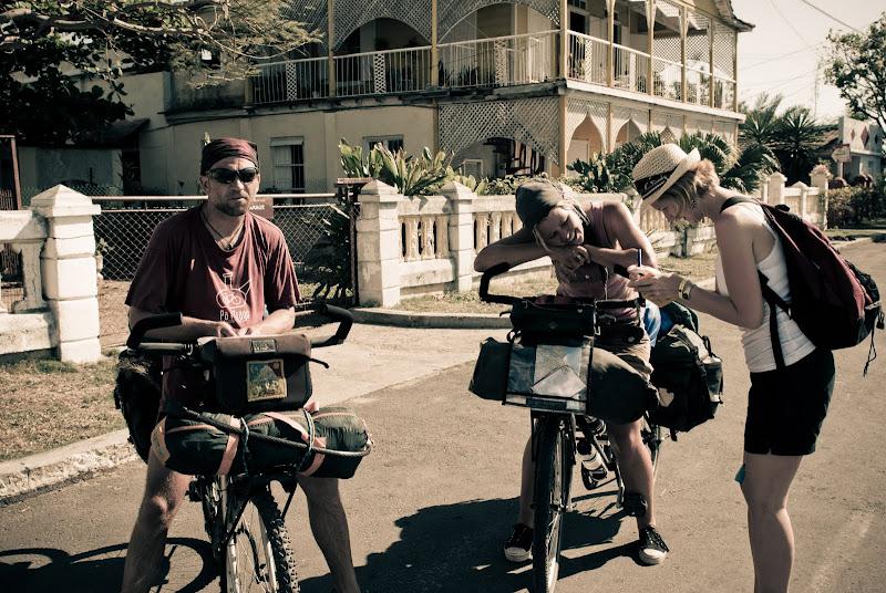 Kuba cz.XVIII -- podróżnicy na trasie..