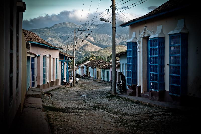 Kuba cz.XIII -- wczesny poranek w Trinidadzie..
