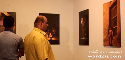 افتتاح معرض الفنان علي ياسين محمد
