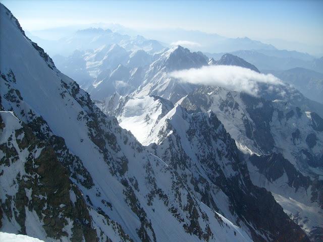 Неизвестный грузинский хребет