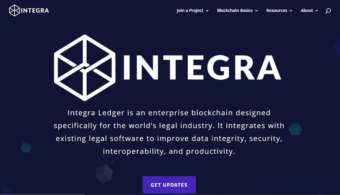Integra's website
