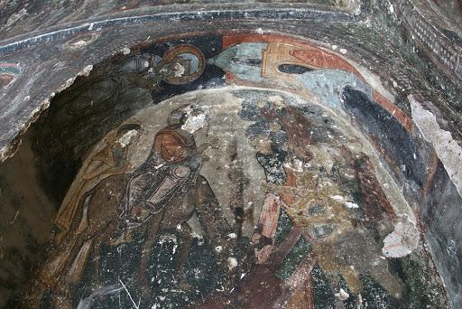 Бахаттин Саманлыгы, Bahattin Samanligi Kilise, Церковь в амбаре Бахаттына