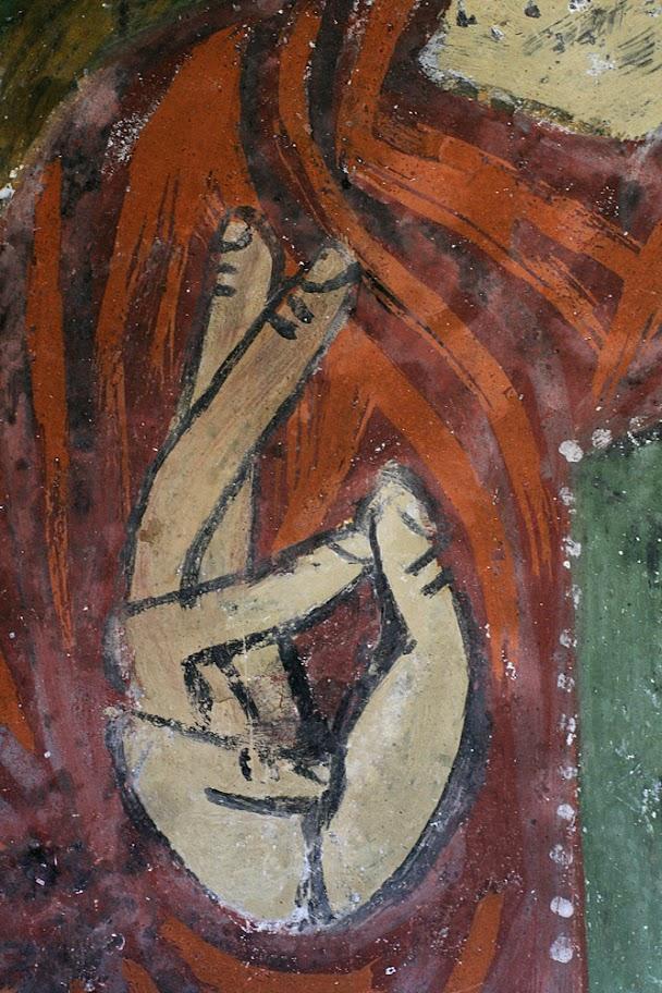 фреска, реставрация Эгриташ
