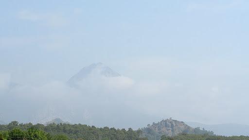 горы, дождь