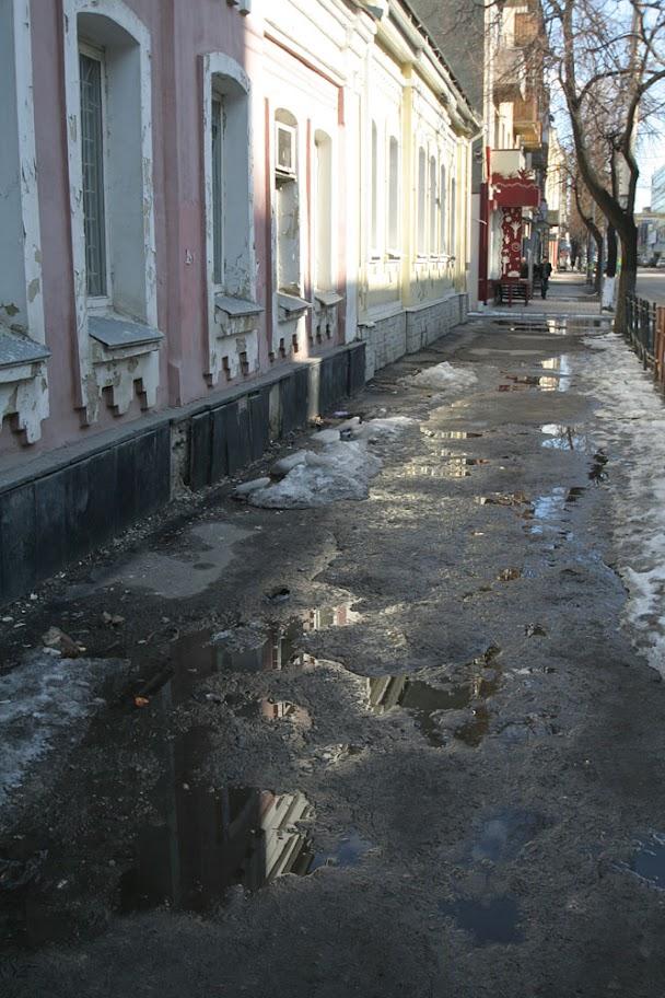 Воронеж, Среднемосковская, март
