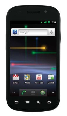 Nexus S, front