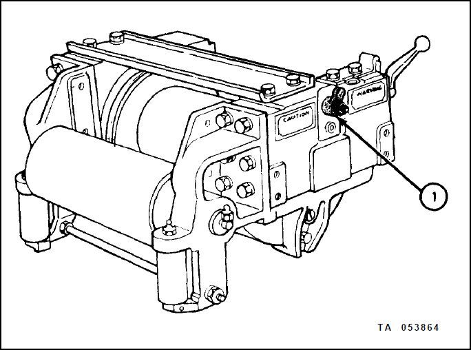 warn hs9500i winch part