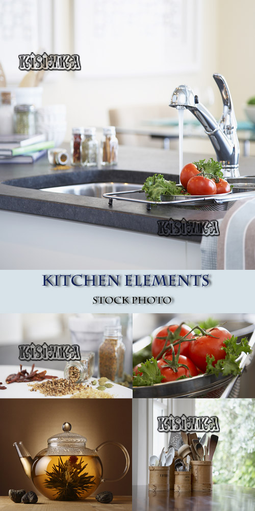 Stock Photo: Kitchen elements