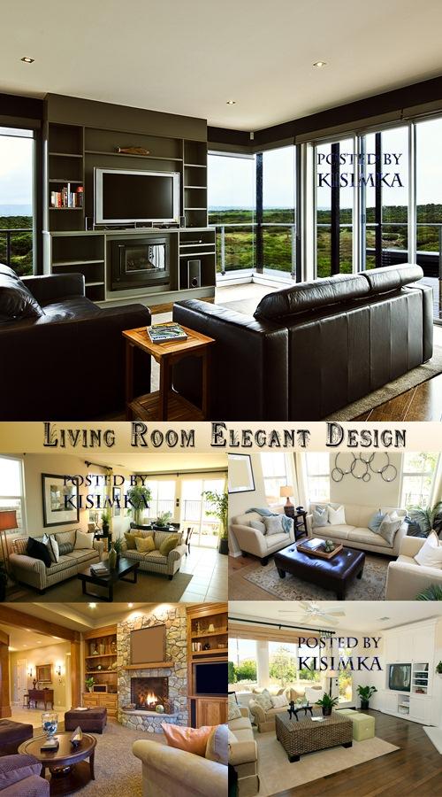 Stock Photo: Living Room Elegant Design