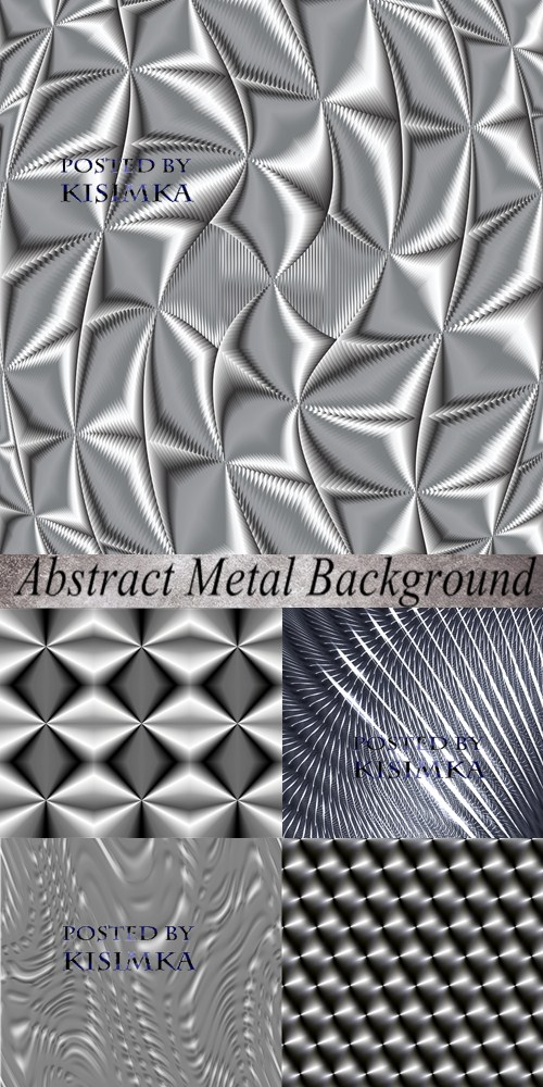 Stock Photo: Abstract Metal Background 2