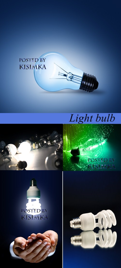 Stock Photo: Light bulb