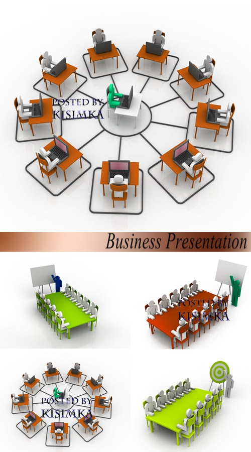 Stock Photo: Business Presentation 2