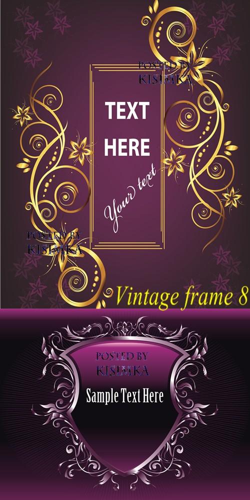 Stock: Vintage frame 8